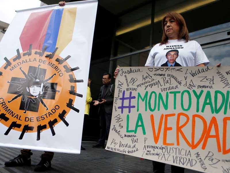 Colombia ex-army chief will be charged over extrajudicial killings