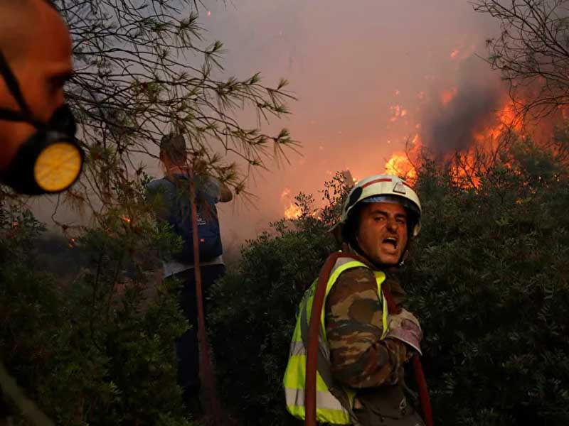 Israel to Send 3 Planes to Help Fight Wildfires in Greece