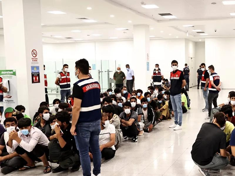 Over 350 people evacuated from Afghan capital reach Istanbul