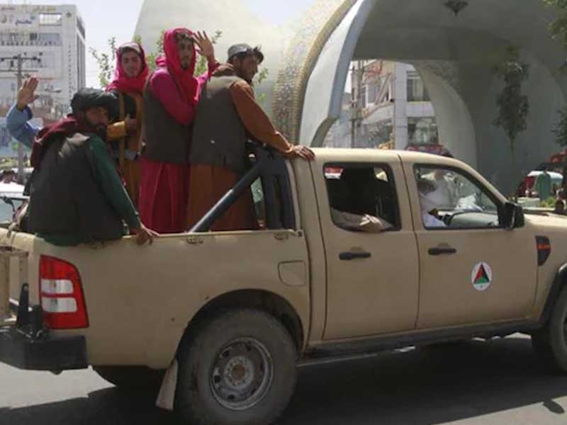 US Embassy officials destroy sensitive documents as Taliban inches closer to Kabul