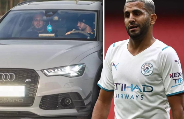 Manchester City star banned from driving after being clocked at 120mph on the M6