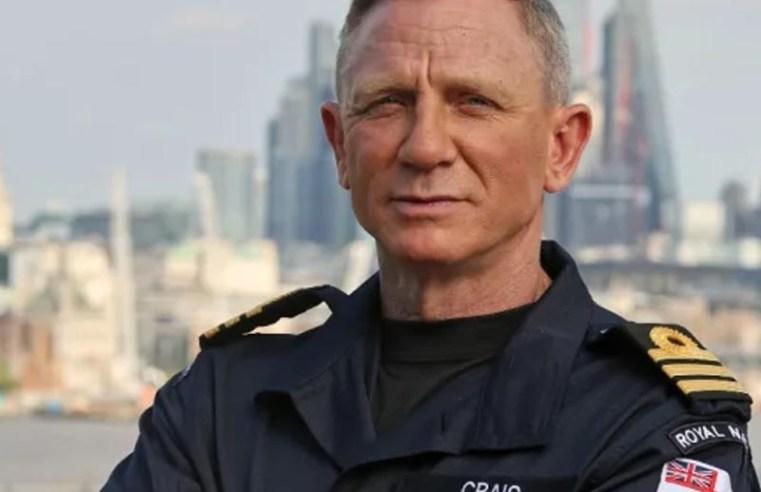 Daniel Craig given same honorary Royal Navy rank as James Bond