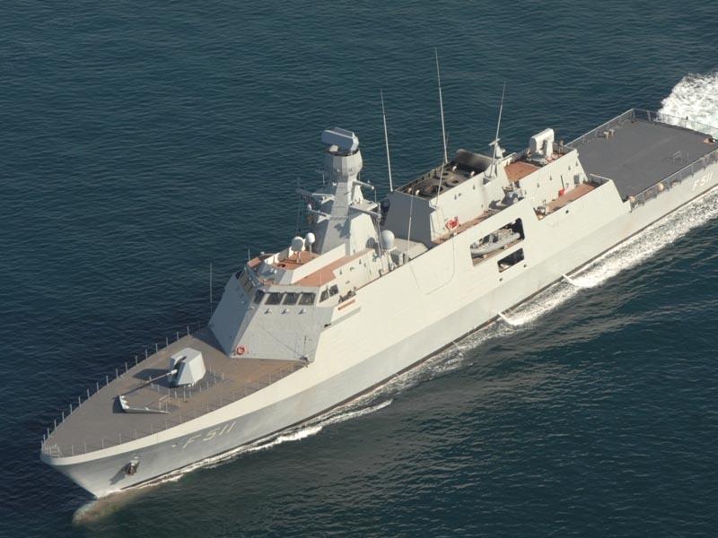Turkish Shipyard lays keel first Ada-class corvette for Ukraine