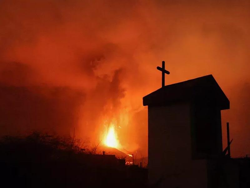 Cumbre Vieja Volcano Erupts on La Palma Island