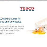 UK supermarket Tesco suffering website outage due to apparent hack