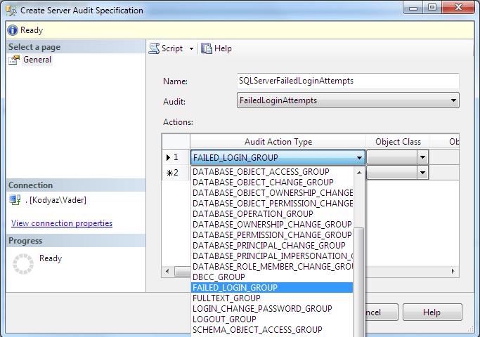 Failed Login Attempts Auditing Using Sql Server Audit Tool