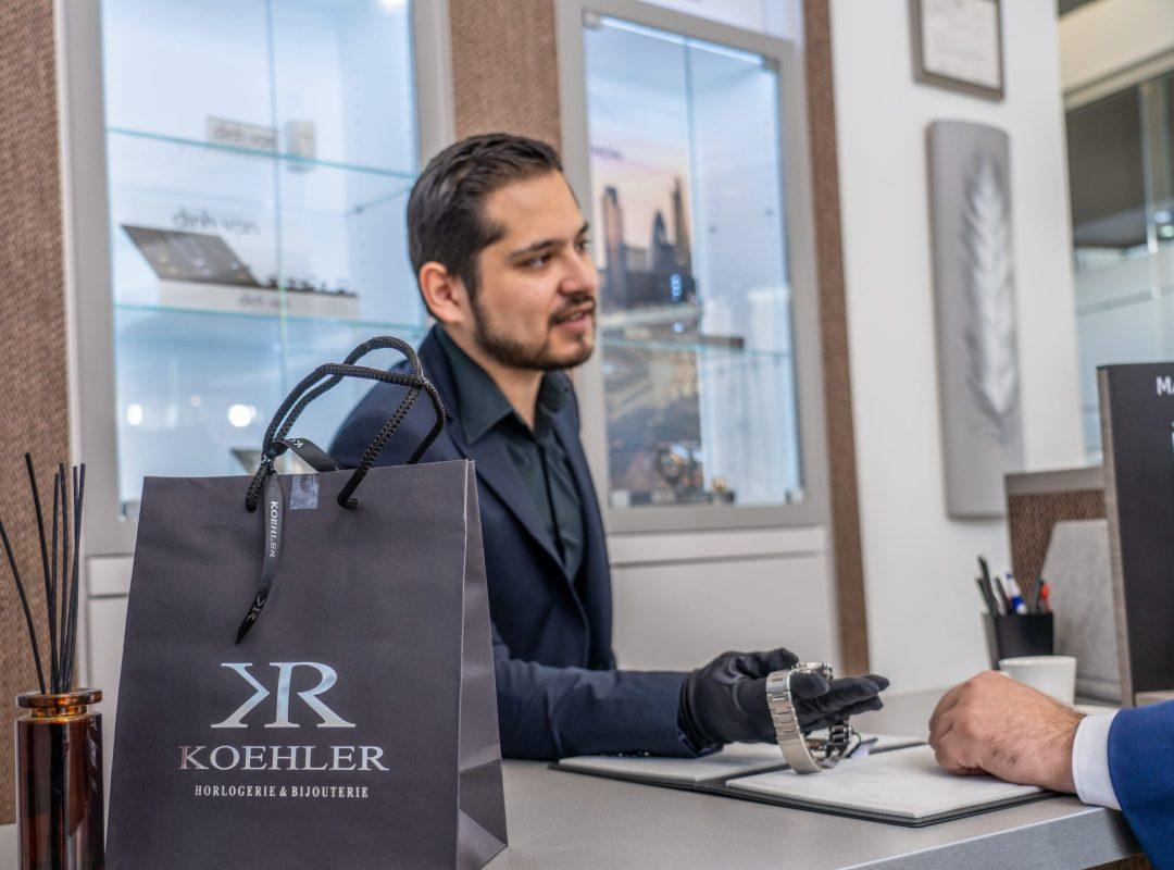 Service personnalisé Koehler Sion Horlogerie Bijouterie