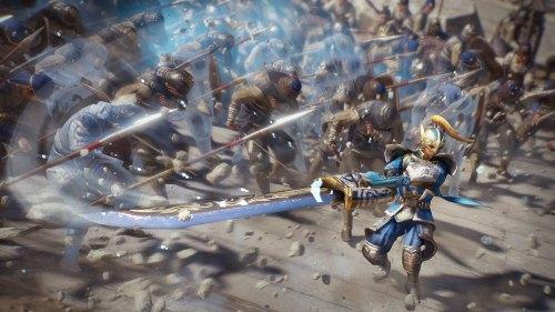 Dynasty Warriors 9 mass battle system