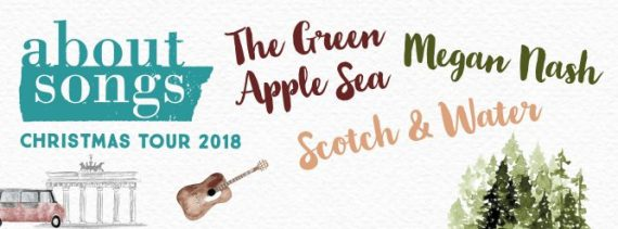 About Christmas Songs Tour 2018 mit Megan Nash / The Green Apple Sea / Scotch and Water @ Weltempfänger | Köln | Nordrhein-Westfalen | Deutschland