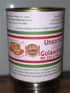 Gulasch aus der Puszta-Hütte, Bild: Uli Kievernagel