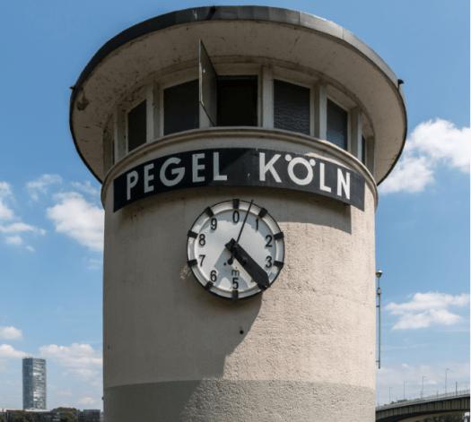 Der Kölner Pegel, Bild: Dietmar Rabich