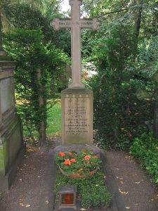 Das Grab von Maria Clementine Martin auf dem Melatenfriedhof, Bild: Factumquintus