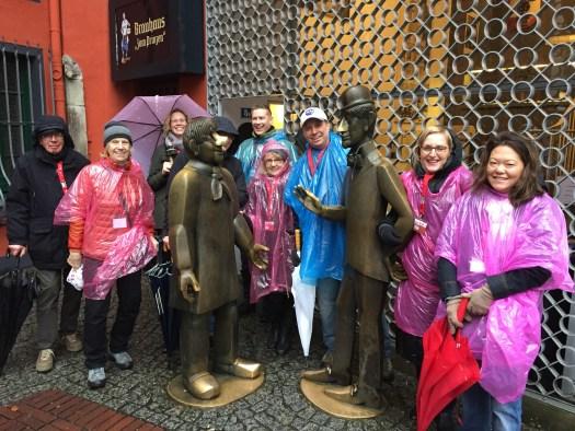 Lotsen-Tour im Regen