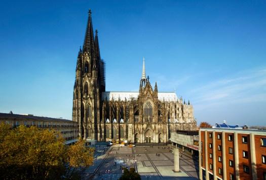 Da steht er – und da bleibt er: Der Kölner Dom, Bild: KölnTourismus GmbH, Andreas Möltgen