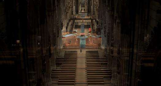 """Auszug aus dem Video """"Highland Cathedral - eine Ode an den Dom"""", Quelle: www.koelner-dom.de"""