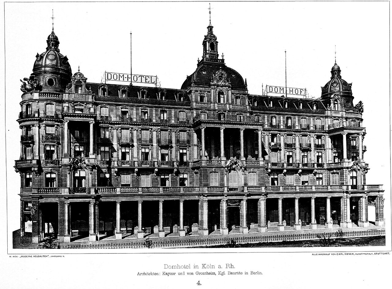 Dom Hotel Köln Umbau