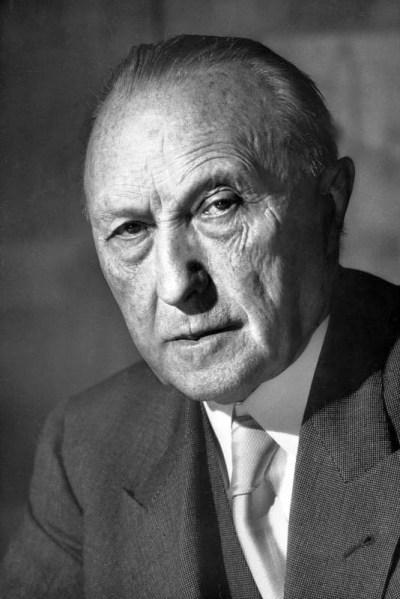 Konrad Adenauer, Kölner Oberbürgermeister, Bild: Bundesarchiv, Katherine Young, CC BY-SA 3.0 DE