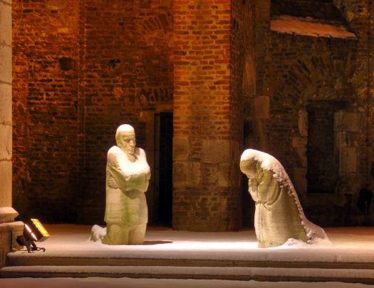 "Skulptur ""Trauernde Eltern"", Bild: Raimond Spekking / CC BY-SA 4.0 (via Wikimedia Commons)"