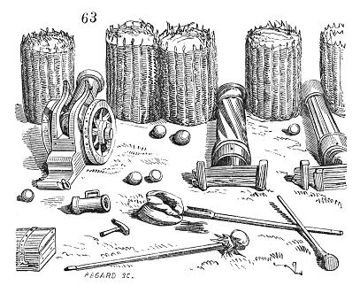 Schanzkörbe: Mit Erde gefüllte Reisigkörbe als militärische Befestigung im 16. Jahrhundert