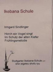 Ikebana Haiku Frühling