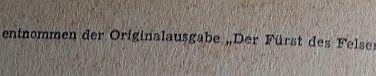 Karl May Das Waldröschen gekürzte Fassung Quellenangabe