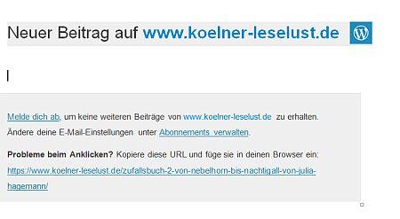 Kölner Leselust abonnieren Beitragsmail