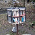 Offener Bücherschrank in Spontin