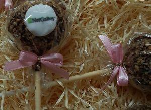 Das Dessert bei der LitBlogConvention - CakePops