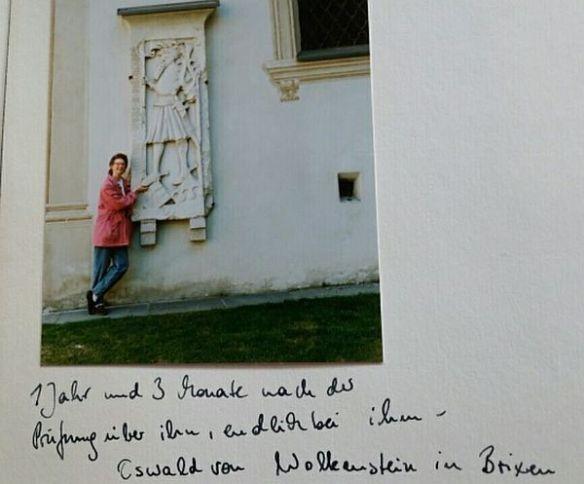 Besuch bei Oswald von Wolkenstein, spätmittelalterlicher Vertreter der Minnelyrik