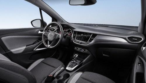 Het interieur van de Opel Crossland X bij Koenders