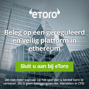 Verhandel Ethereum CFDs
