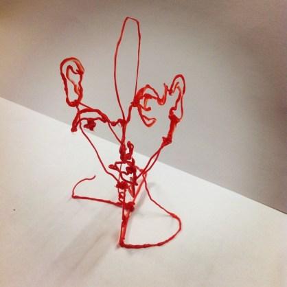3D Pen Sculpture
