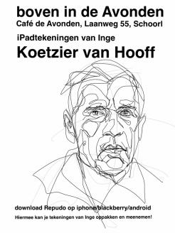 Gerard Reve Poster Schoorl NL