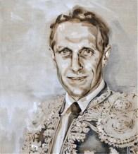 Barry van Galen AZ as Torero | Acrylic on linnen canvas| 70x80 cm