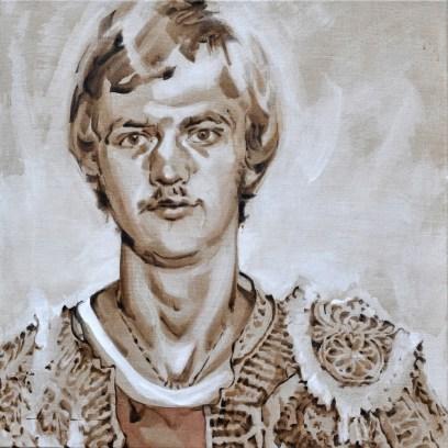 Young Louis van Gaal as Torero | Acrylic on linnen canvas| 70x80 cm