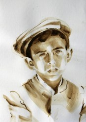 Portrait Retrato Sanlucar de Guadiana Andalucia