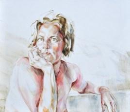 Ellen | Acrylic on wooden panel | 70x60x3,5 cm
