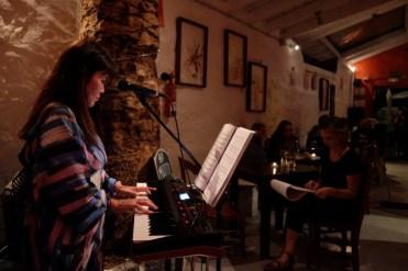 Drawing music Yasuyo La Palmera Teguise