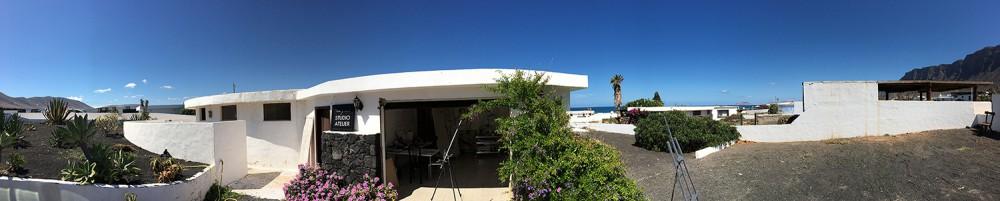 Studio Atelier Famara Lanzarote