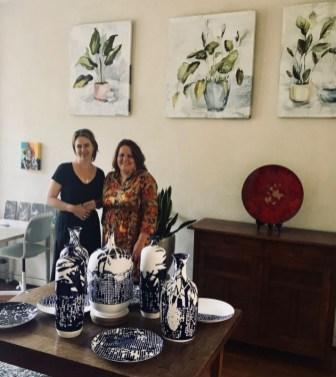 Rondje Kunst Statenkwartier Den Haag 2018 Inge Koetzier van Hooff en Nicole Donkers