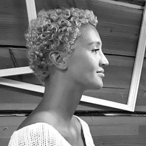 Model Louisanne van Hooff