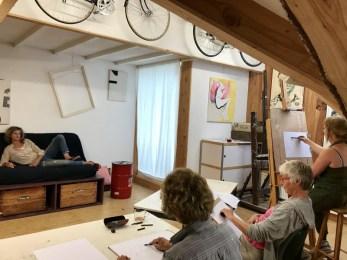 Model Drawing Tekenen | Heleen | 2019