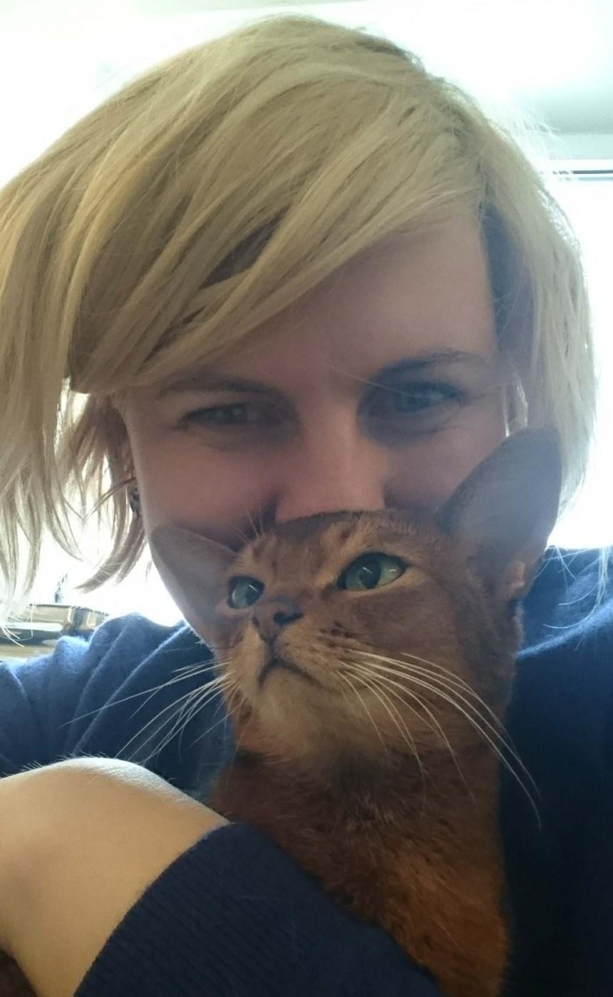 Crazy cat lady med Jara