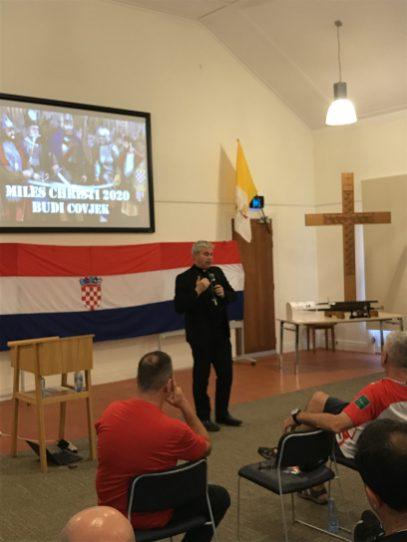 Bishop Umbers Presentation Saturday Night