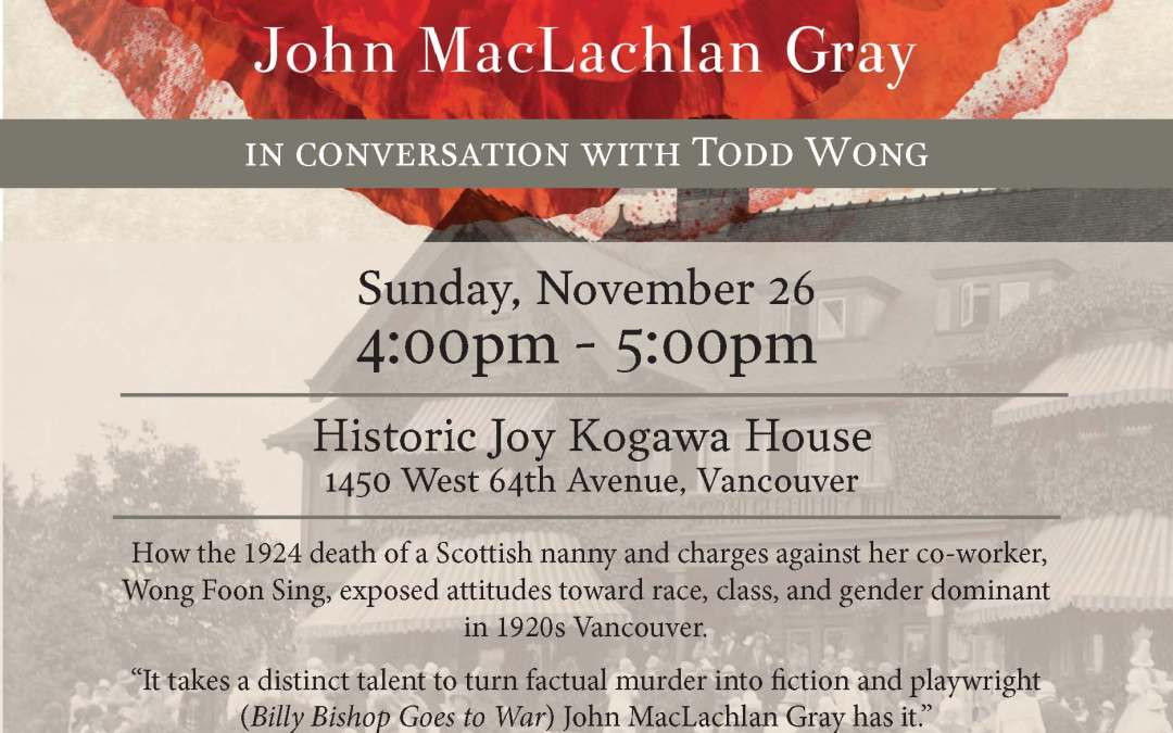 The White Angel with John MacLachlan Gray