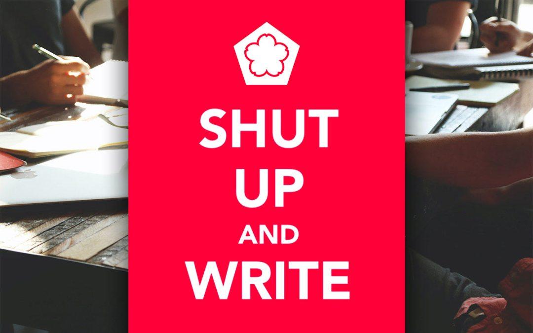 Shut Up and Write Wednesdays