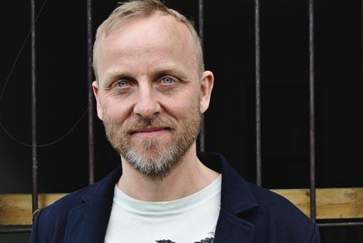 Portrait of Kevin Spenst
