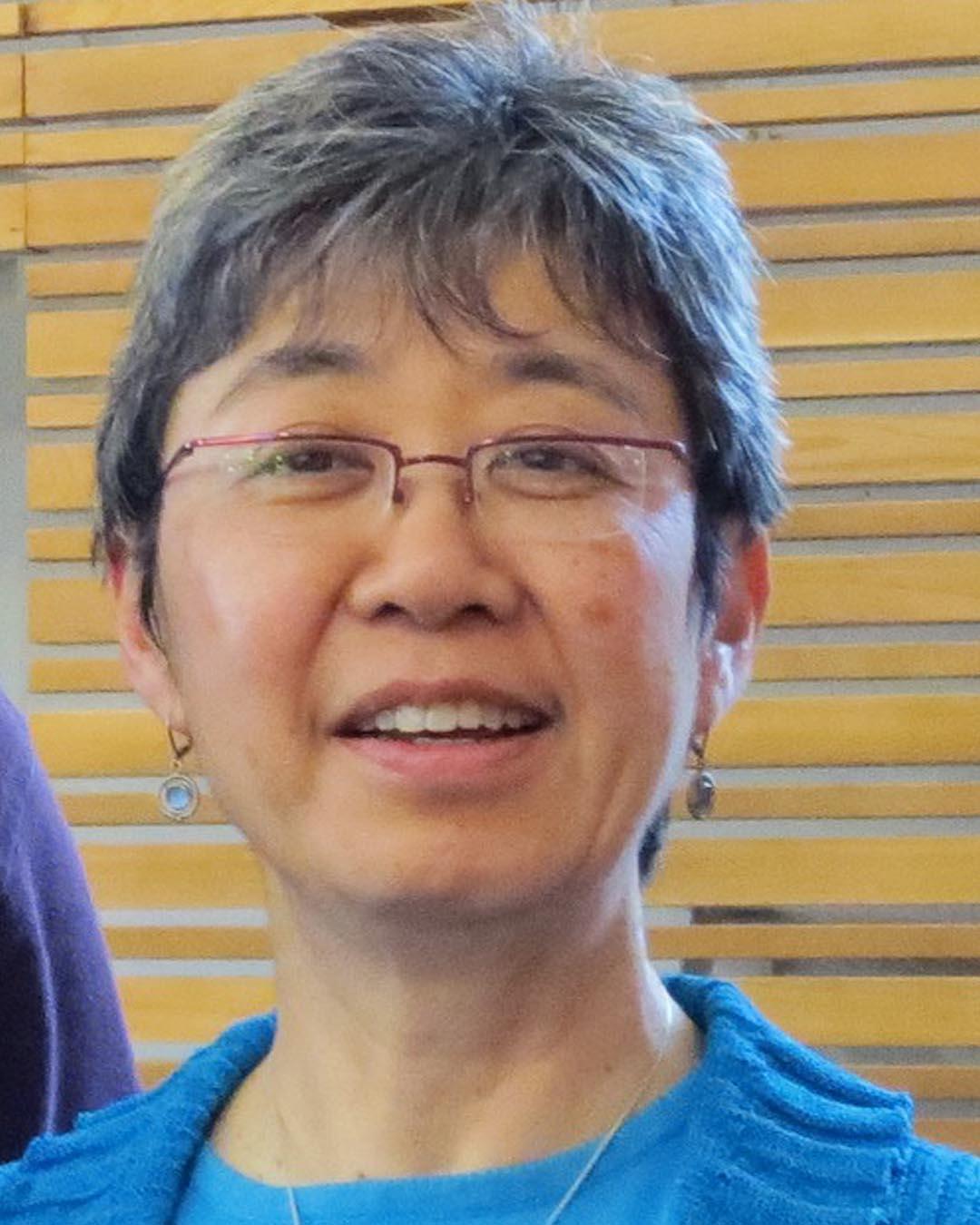 Susan Aihoshi, Writer-in-Residence at Historic Joy Kogawa House in September 2017.