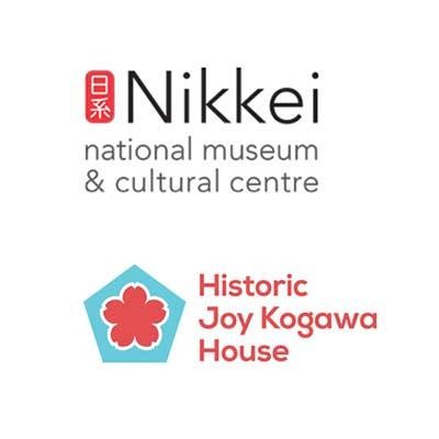 Nikkei Museum and Kogawa House logos