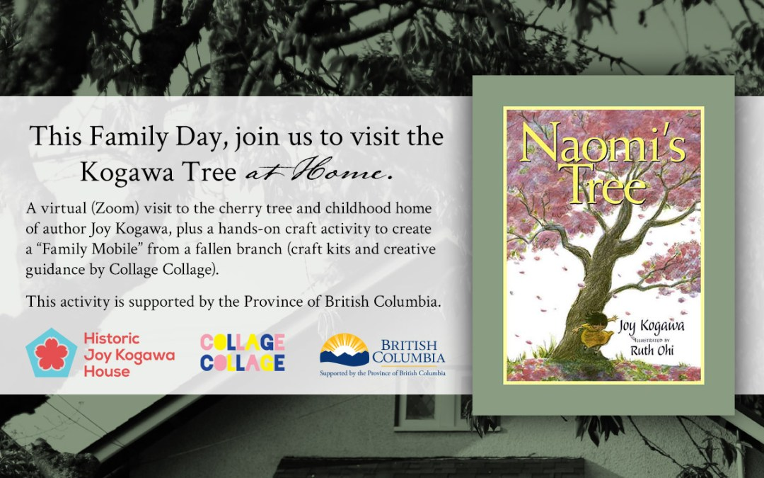 This Family Day, Visit the Kogawa Tree at Home